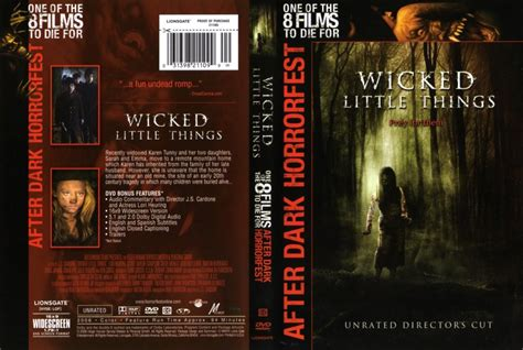 Wicked Little Things - Movie DVD Scanned Covers