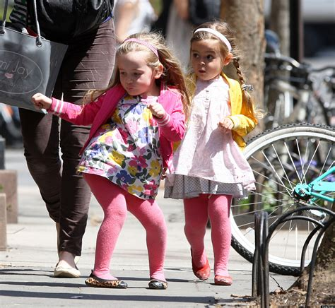 Sarah Jessica Parker's Twins Bust A Move On The Streets Of